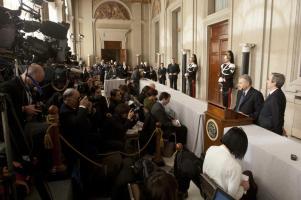 Quirinale - consultazioni crisi governo Monti