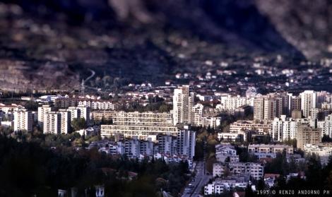 Mostar vista dall'alto