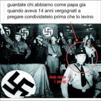 La bufala del Papa nazista