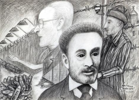 A SICILIANO - Primo Levi 2005 (matita) ridim