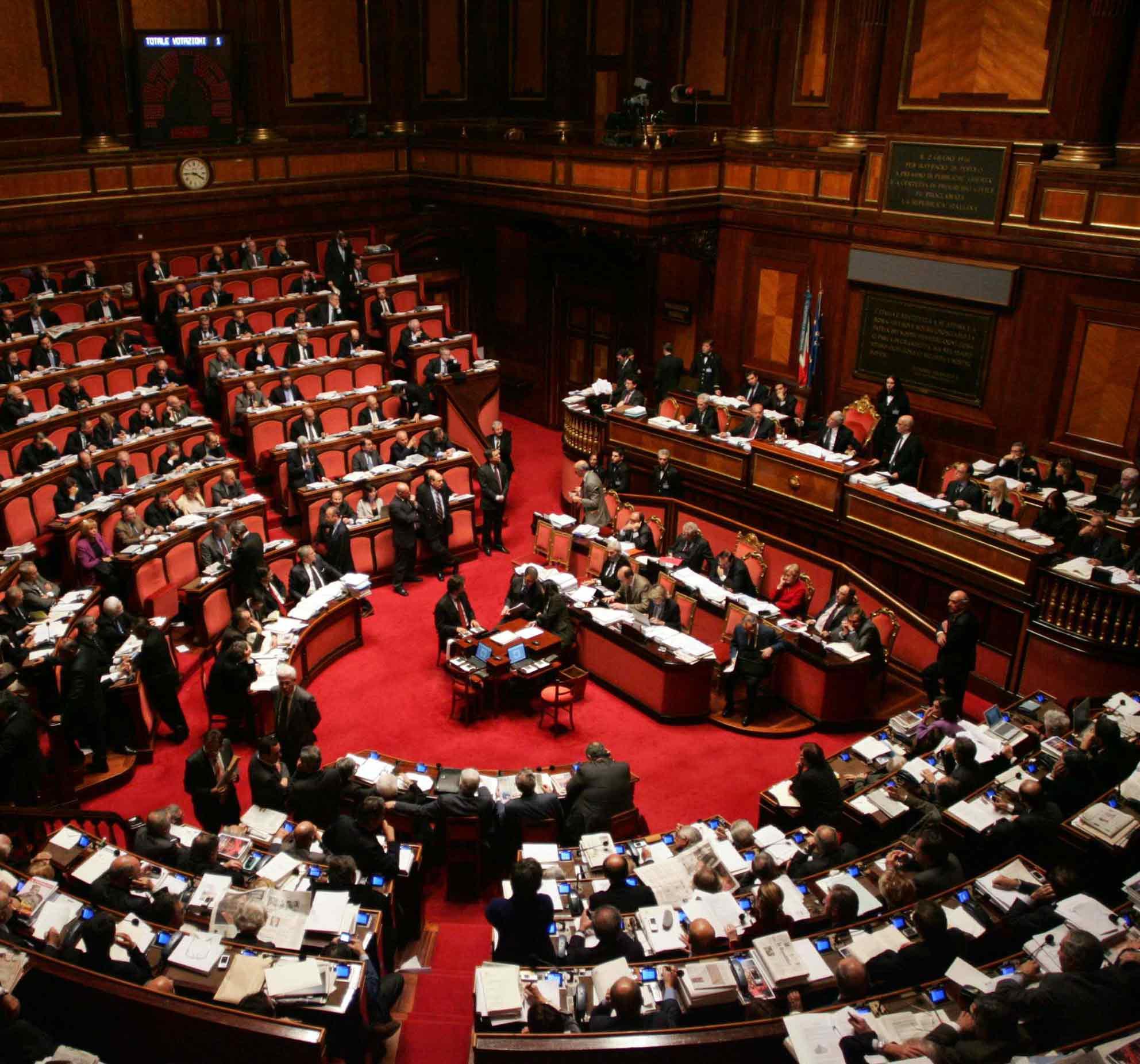 In parole povere cosa sono le commissioni parlamentari for Senato composizione