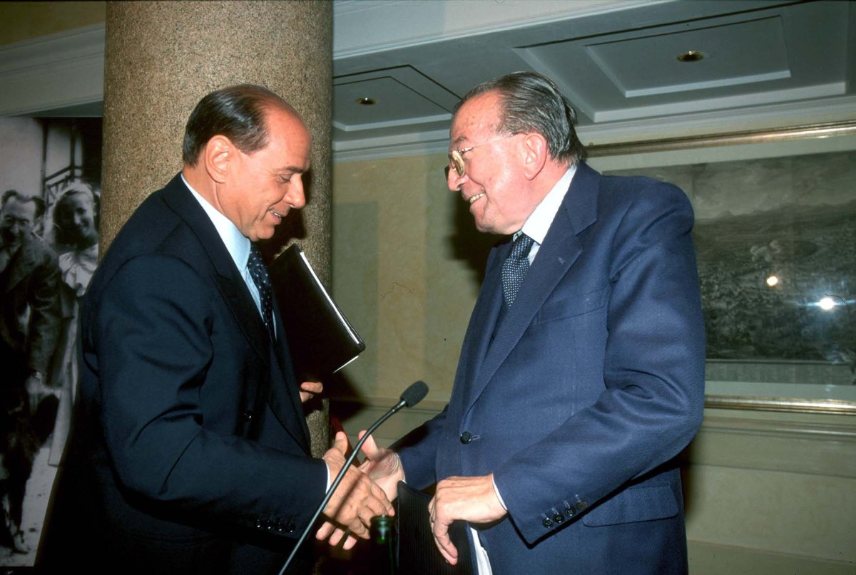 A & B: l'impossibile paragone tra Giulio Andreotti e Silvio Berlusconi