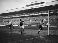England Vesus Germany Football 1935