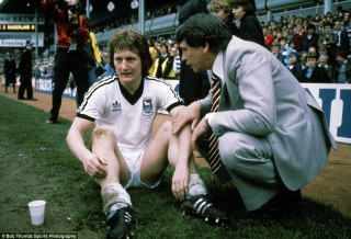 Sir Bobby Robson - here he is in his days as Ipswich boss,