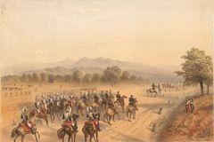 L'incontro tra Napoleone III e Francesco Giuseppe a Villafranca.