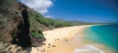 La spiaggia di Maui, Hawaii