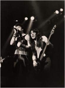 Paul Di Anno e Steve Harris in una foto del 1980