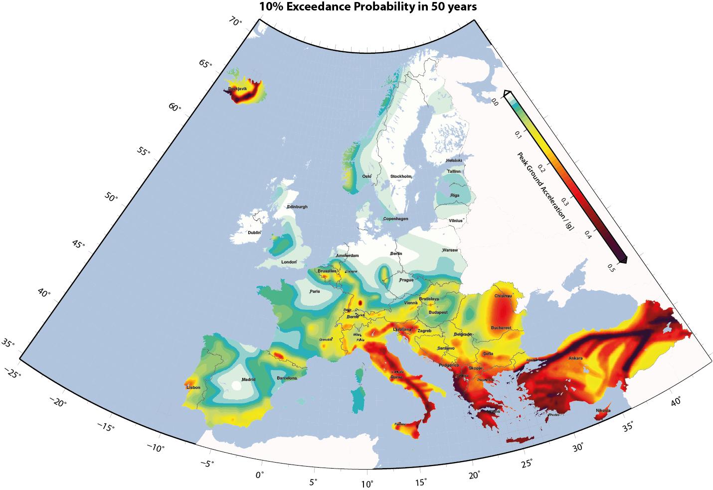 I terremoti italiani 2 perch l italia una zona for Rischio sismico in italia