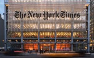 new york times headquarter