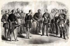 Napoleone III e Francesco Giuseppe a Villafranca