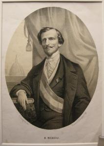 Il barone Bettino Ricasoli, tra i principali protagonisti dei governi provvisori dell'Italia centrale