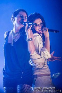 Sharon den Adel (a sinistra) e Charlotte Wessels (a destra).