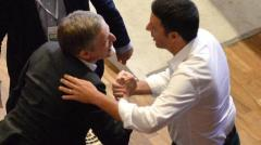 Renzi e Cuperlo: fair play?