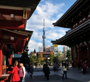 Tempio e Tokyo Sky Tree. Serve altro?