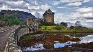 Eilean Donan a Loch Duich, Scozia