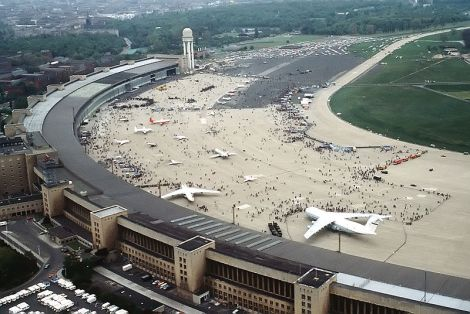 Flughafen Berlin Tempelhof 1984