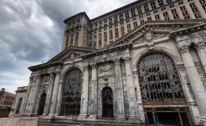 Michigan Central Station a Detroit