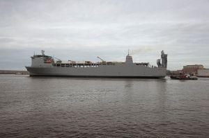 La nave Cape Ray
