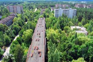 Pripyat, aerea