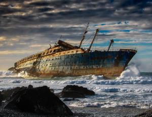 Relitto della SS America a Fuerteventura, Canarie