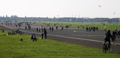 Il parco di Tempelhof, oggi