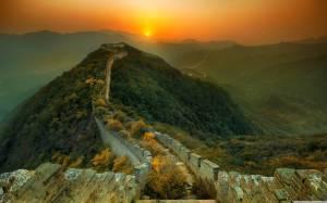Tratto abbandonato della Grande Muraglia Cinese